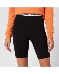 Tommy Hilfiger Legging Shorts - Black