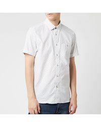 Ted Baker Mathew Short Sleeve Shirt - White