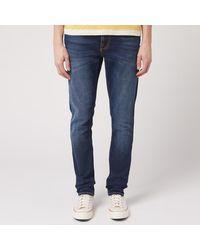 Nudie Jeans Lean Dean Tapered Jeans - Blue