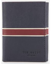 Ted Baker Trifold Wallet - Blue