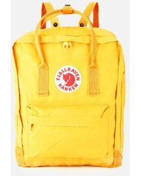 Fjallraven Kanken Backpack - Yellow