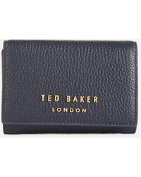 Ted Baker Odelle Statement Letters Mini Purse - Blue