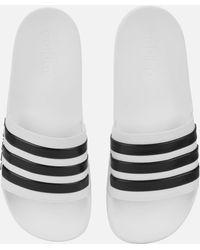 reputable site 4dbba 58538 adidas - Adilette Shower Slide Sandals - Lyst