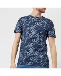 Ted Baker - Woof Geo Print T-shirt - Lyst