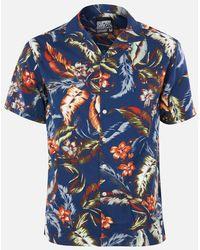 Superdry Hawaiian Box Shirt - Blue