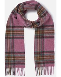Barbour - Country Check Scarf - Lyst