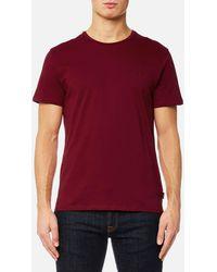 Calvin Klein - Jari Embossed T-shirt - Lyst
