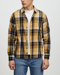 Neuw Everyday Check Ls Shirt - Multicolour