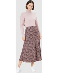 French Connection Midi Skirt - Multicolour