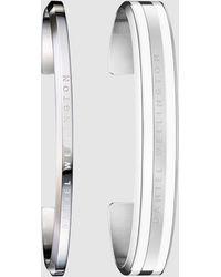 Daniel Wellington Gift Set Classic Bracelet Med Lrg - Metallic