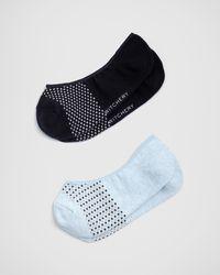 Witchery Mini Dot Loafer Sock - Blue