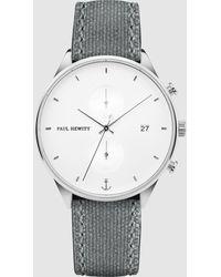 PAUL HEWITT Chrono White Sand Watch - Grey
