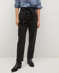 Mng Slow Trousers - Black