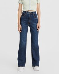 Levi's 70s High Flare - Blue