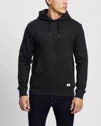 Staple Superior Staple Organic Fleece Hoodie - Black