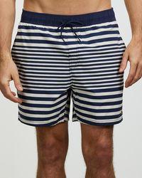 Brixton Voyage Shorts - Blue
