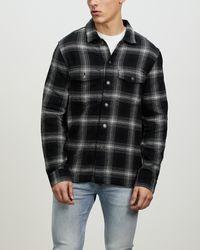 Neuw Kross Overshirt - Black