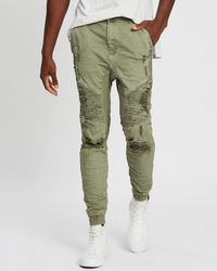 Kiss Chacey Zeppelin Trousers - Green