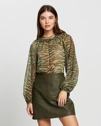 Mng Wild Blouse - Natural