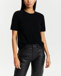 Minima Esenciales Easton Cashmere Knit - Black