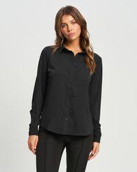 Reux Tiffany Shirt - Black