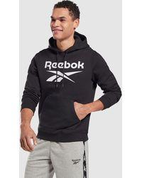 Reebok Performance Reebok Identity Fleece Hoodie - Black