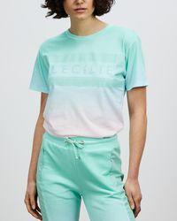 Cecilie Copenhagen Simone Rainbow T Shirt - Blue