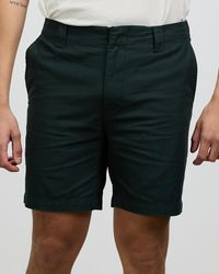 Rhythm Slub Walk Shorts - Black