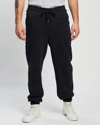Staple Superior Staple Organic Fleece joggers - Black