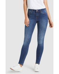 Jeanswest Skinny Jeans Mid Vintage - Blue