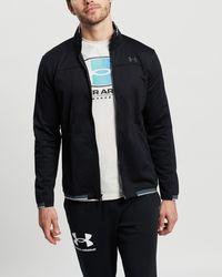 Under Armour Ua Recovertm Knit Track Jacket - Black