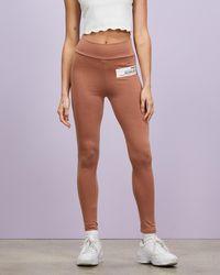 Missguided Lifestyle Patch Leggings - Multicolour