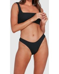 Billabong Summer High Bondi Bikini Bottoms - Black