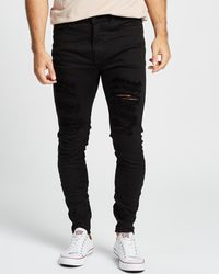 Kiss Chacey K1 Skinny Fit Jeans - Black