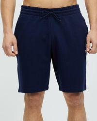 Reebok Performance Fleece Shorts - Blue
