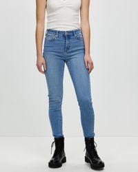 Lee Jeans Mid Ankle Skimmer Jeans - Blue