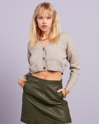 Missguided Co Ord Recycled Knit Cropped Cardigan - Multicolour