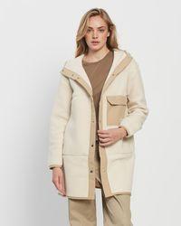 The North Face Cragmont Fleece Coat - Natural