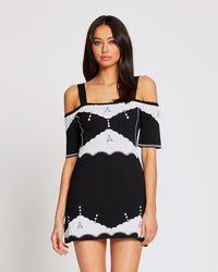Alice McCALL Come Over Mini Dress - Black