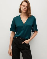 Mng Cecil Blouse - Green