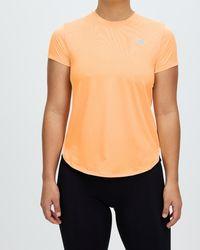 New Balance Accelerate Short Sleeve Tee - Orange