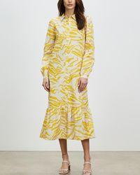 ALIGNE Cecilie Shirt Dress - Yellow