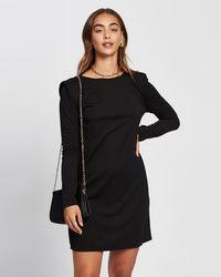 Mng Alanis Dress - Black
