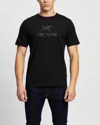 Arc'teryx Arc'word Short Sleeve T Shirt - Black