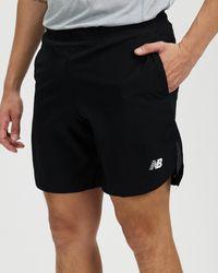 "New Balance Fast Flight 2 In 1 7"" Shorts - Black"