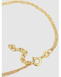Elli Jewelry Bracelet Link Chain Round Fine Twisted In 925 Sterling Silver Plated - Metallic