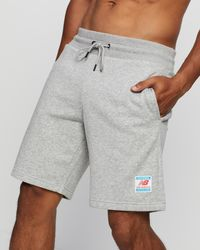 New Balance Essentials Fleece Shorts - Grey