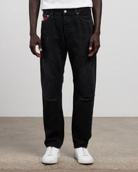 Tommy Hilfiger Ethan Relaxed Straight Jeans - Black