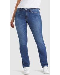 Jeanswest Curve Embracer Slim Straight Jeans - Blue