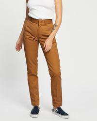 Dickies 875 Work Trousers - Brown
